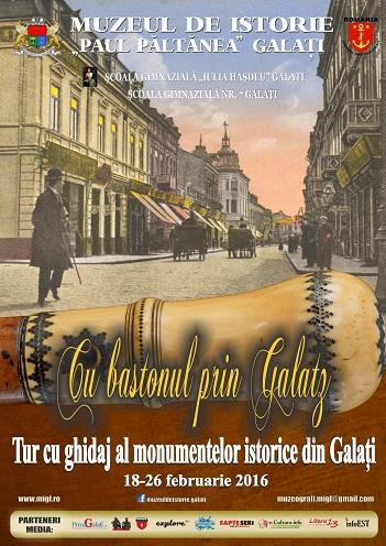 Turul Prin Galatzi cu bastonul