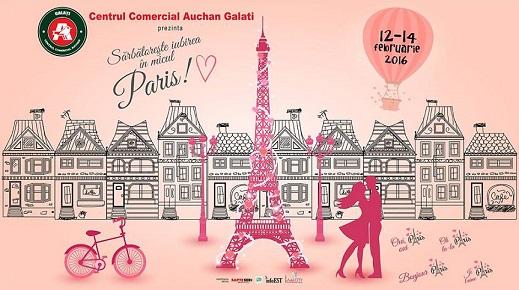Micul Paris la Auchan Galati