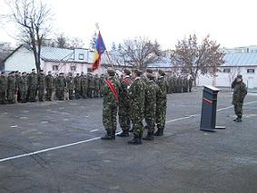 festivitate Brigada 10 Geniu Dunarea de Jos