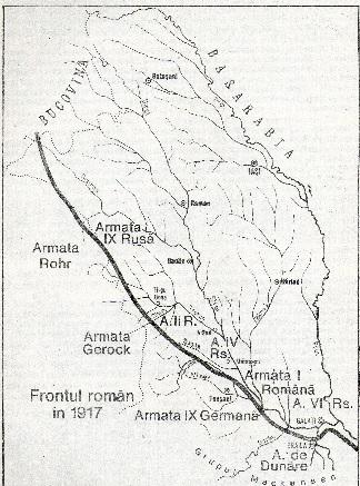 frontul vara 1917