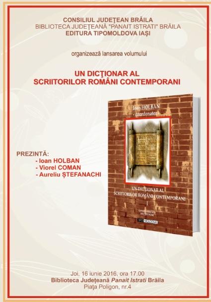 Dictionarul Scriitorilor Romania contemporani