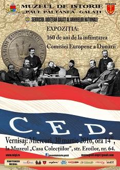 Comisia Dunarii - afis