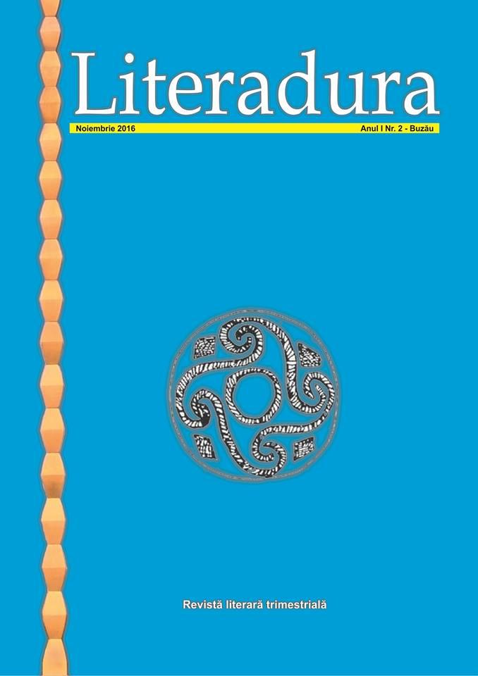 revista Literadura nr 2 Buzau