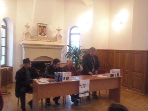 Lansare Mihai Vintila si Paun Condrut la Buzau