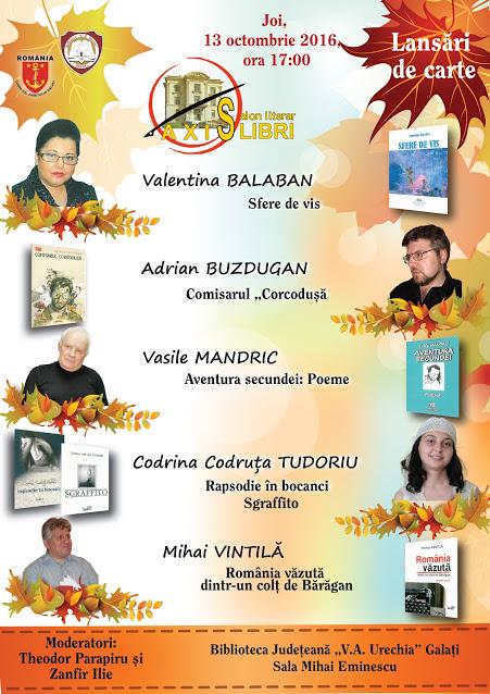 lansare de braileni la Asix Libri