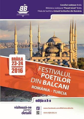 Festivalul Poetilor din Balcani Braila 2016