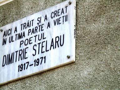 Dimitrie Stelaru placa comemorativa