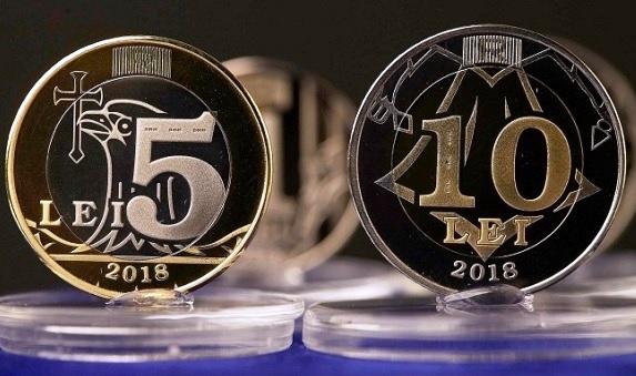 monede noi in Moldova