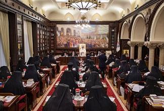 sedinta Sfantului Sinod