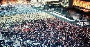 Miting București 20 ianuarie 2018