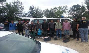 imigranti prinsi la granita cu Ucraina