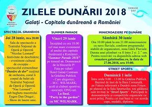 program Zilele Dunarii