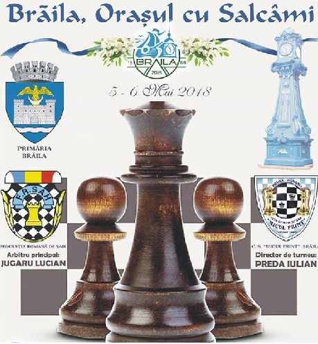 braila șah, orasul cu salcami