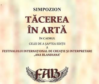 Simpozion Tacerea in Arta braila 2018