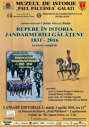 Repere in Jandarmeria Galati
