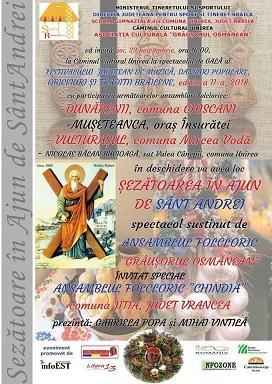 sarbatoare de ajun de Sant Andrei