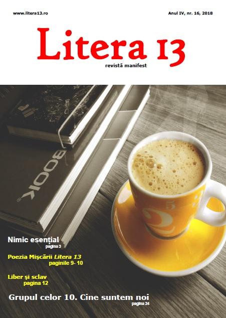 Litera 13 nr 16/2018