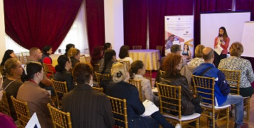 workshop Braila DELTA - DEzvoLTArea si insertia profesionala a resurselor umane inactive din Regiunea Sud-Est