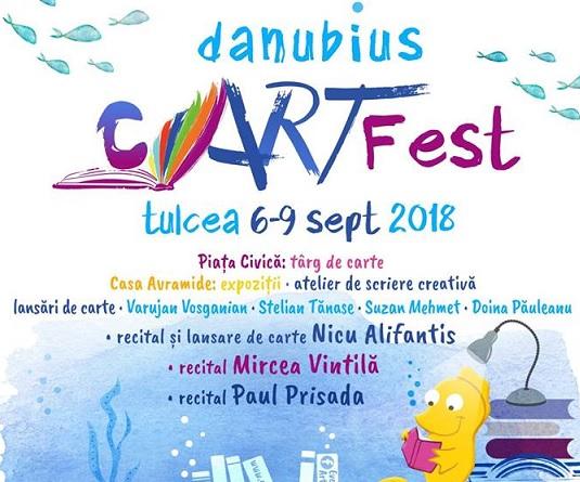 Festivalul Danubius cARTFest Tulcea 2018