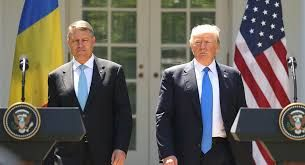 Iohannis si Trump la Casa Alba