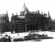 armata romana in 1919 in Budapesta
