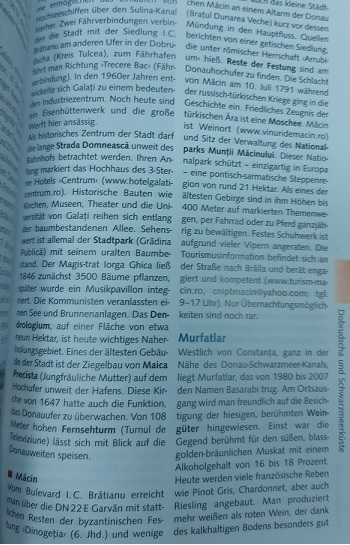 Trescher Verlag ROMÂNIA macin