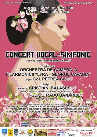 concert ziua femeii filarmonica lyra braila