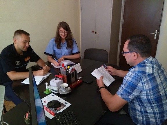 studenti AI Cuza la Braila iulie 2019