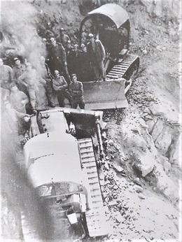 muncitori pe Transfagarasan