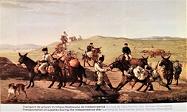 pictura Hentia, transport provizii pe front