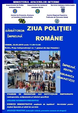 ziua politiei romana la braila 2019