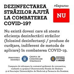 dezinfectare covid 19