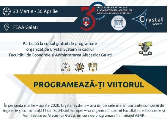 Crystal System  curs FEEA Galati 2020