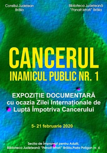 expo cancer braila 2020