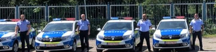 12 masini noi la politia braila