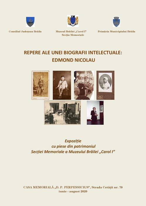 edmond nicolau expozitie Braila iunie 2020
