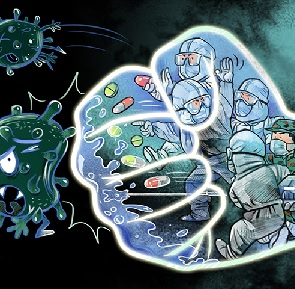 coronavirus caricatura china daily