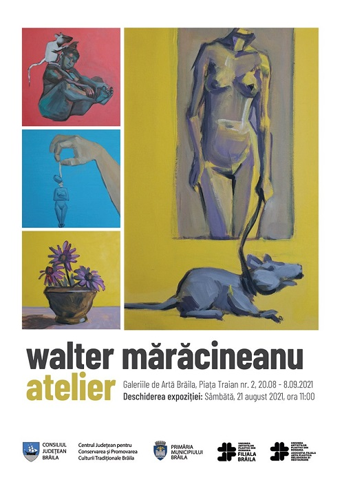 walter maracineanu expozitia atelier braila