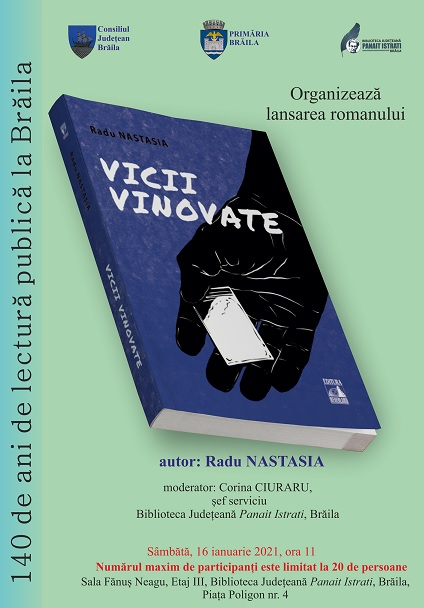 Radu Nastasia lansare de carte