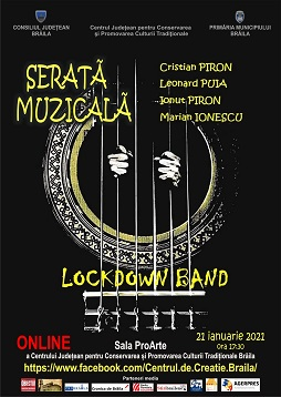 Serată muzicală   Lockdown Band