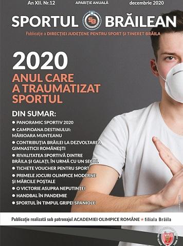 Sportul Brăilean   O revistă bună despre un an rău 2020