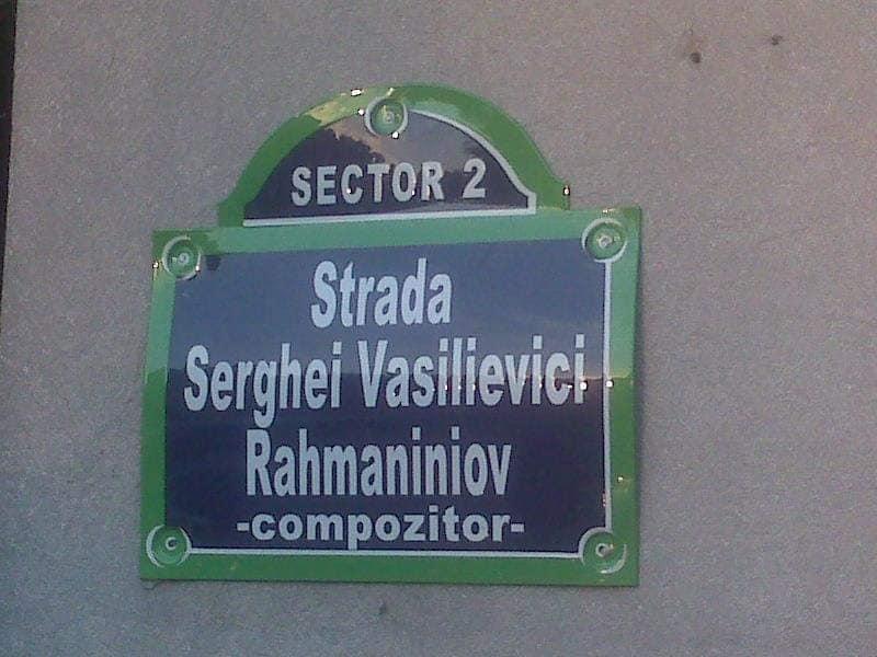Rachmaniniov strada