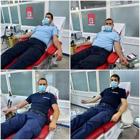 jandarmii au donat sange