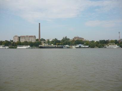 Moara Violatis, vedere de pe Dunare