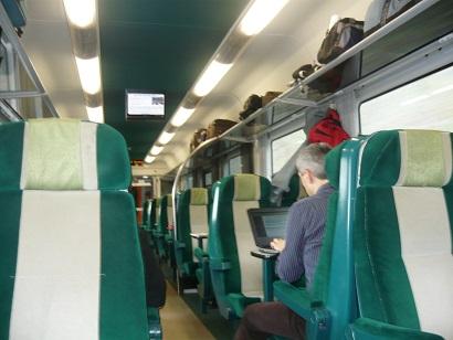 compartiment tren